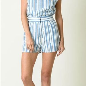 Lucca Couture Striped Shorts